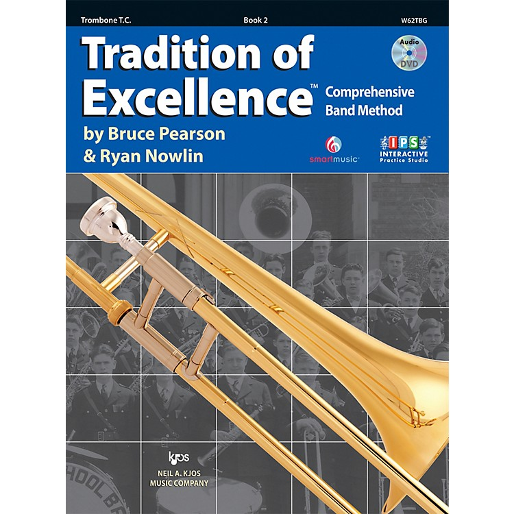 KJOSTradition Of Excellence Book 2 for Trombone TC
