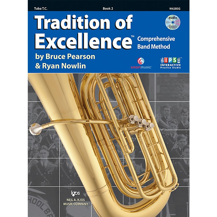 KJOSTradition Of Excellence Book 2 for Tuba TC