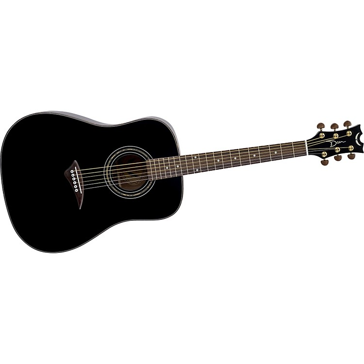 Dean Tradition S2 Acoustic Guitar Classic Black