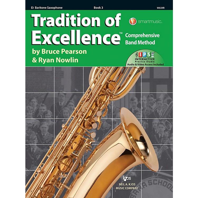 KJOSTradition of Excellence Book 3 Bari sax