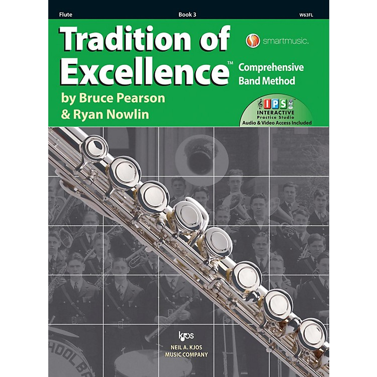KJOSTradition of Excellence Book 3 Flute