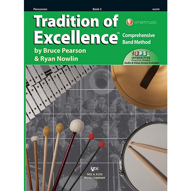 KJOSTradition of Excellence Book 3 Percussion