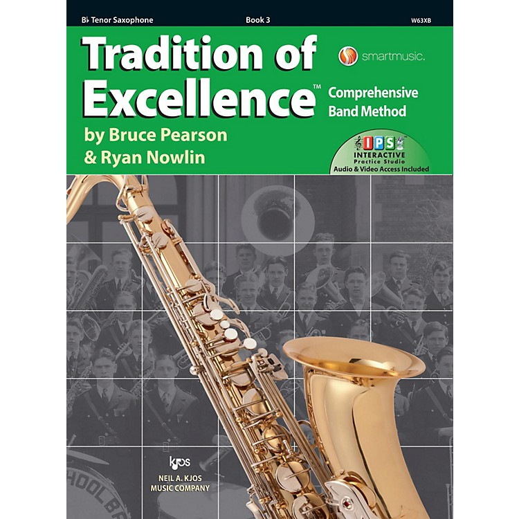 KJOSTradition of Excellence Book 3 Tenor sax