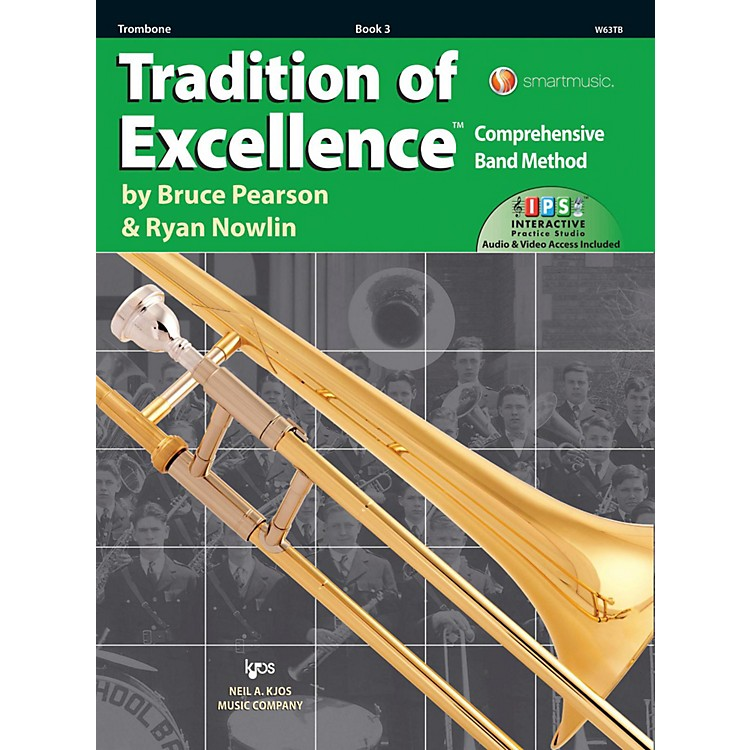KJOSTradition of Excellence Book 3 Trombone