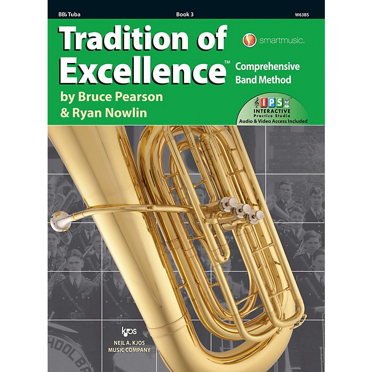 KJOSTradition of Excellence Book 3 Tuba