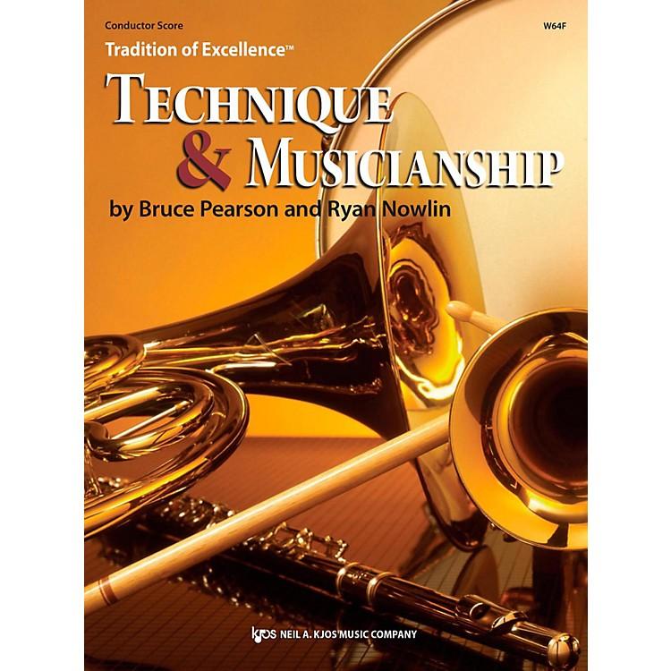 KJOSTradition of Excellence: Technique & Musicianship Conductor Score