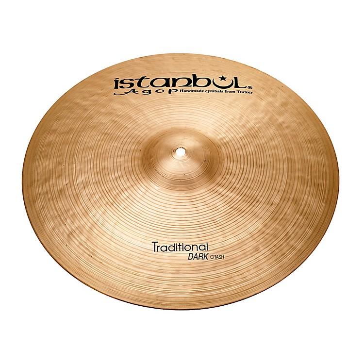 Istanbul AgopTraditional Dark Crash Cymbal19 in.