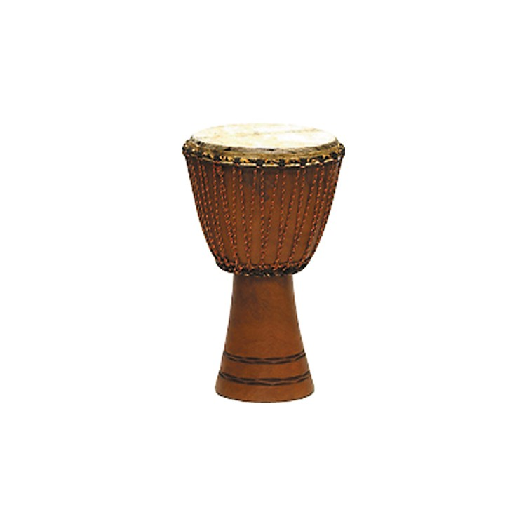 Overseas Connection Traditional Djembe Natural 9x17 Inch