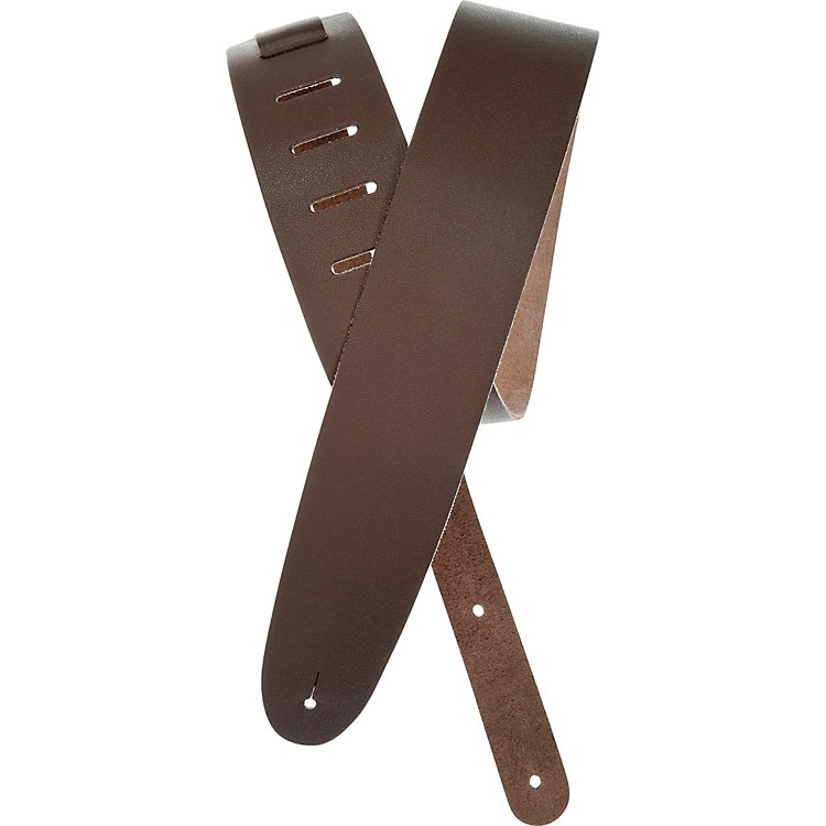 Planet Waves Traditional Leather Guitar Strap Brown