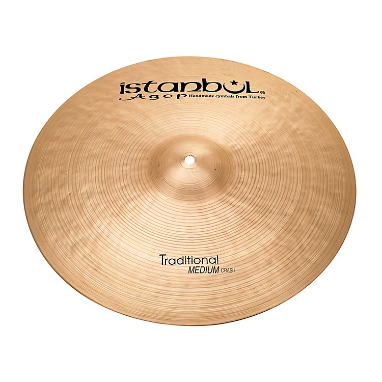 Istanbul Agop Traditional Medium Crash 19 in.