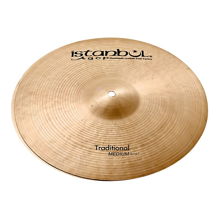 Istanbul Agop Traditional Medium Hi-Hat Cymbals 14 in.