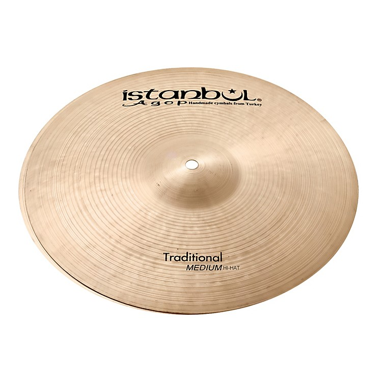 Istanbul AgopTraditional Medium Hi-Hat Cymbals