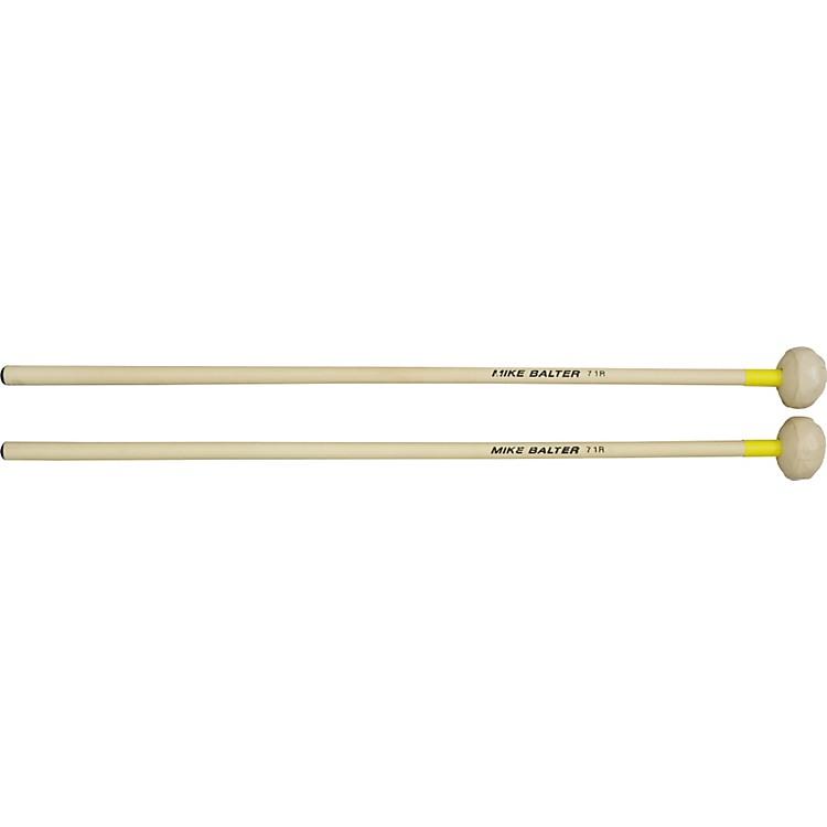 Mike BalterTraditional Plus Series Marimba Mallets71 Rattan Yellow TrimHard