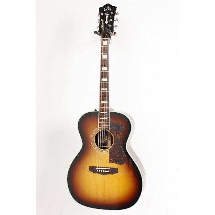 Guild Traditional Series F47R Grand Orchestra Acoustic-Electric Guitar with D-TAR Antique Burst 886830453045