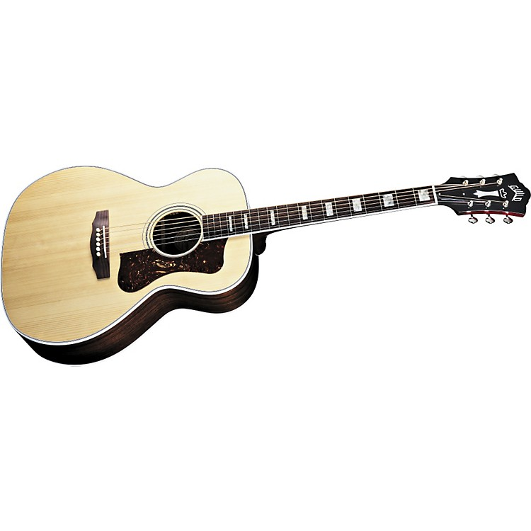GuildTraditional Series F47R Grand Orchestra Acoustic GuitarNatural