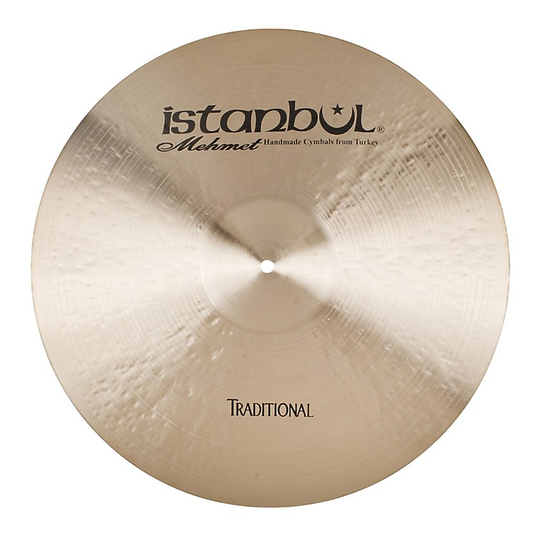Istanbul Mehmet Traditional Series Medium Ride 22 in.