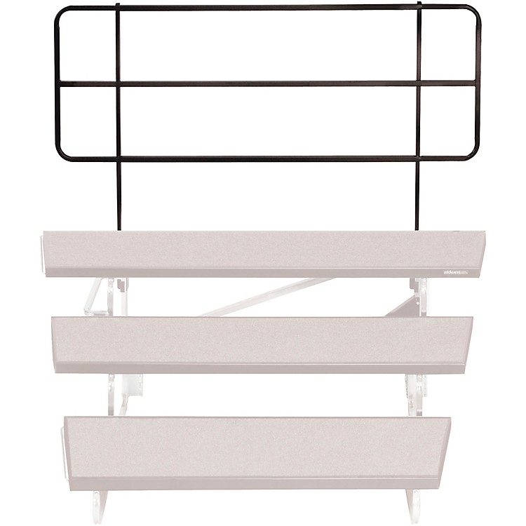 Midwest Folding Products TransFold Choral Risers 70 in. Backrail