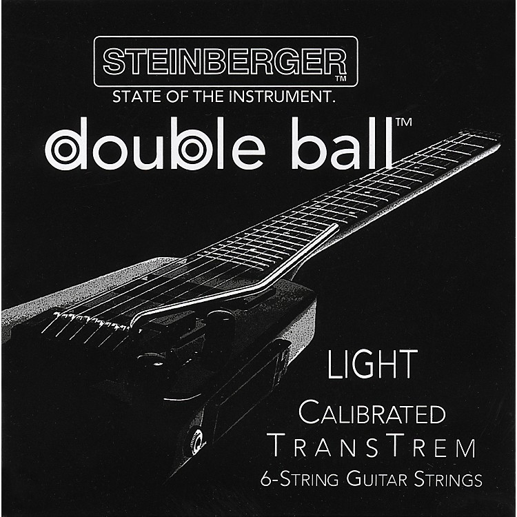 SteinbergerTransTrem Light Calibrated 6-String Electric Guitar Strings
