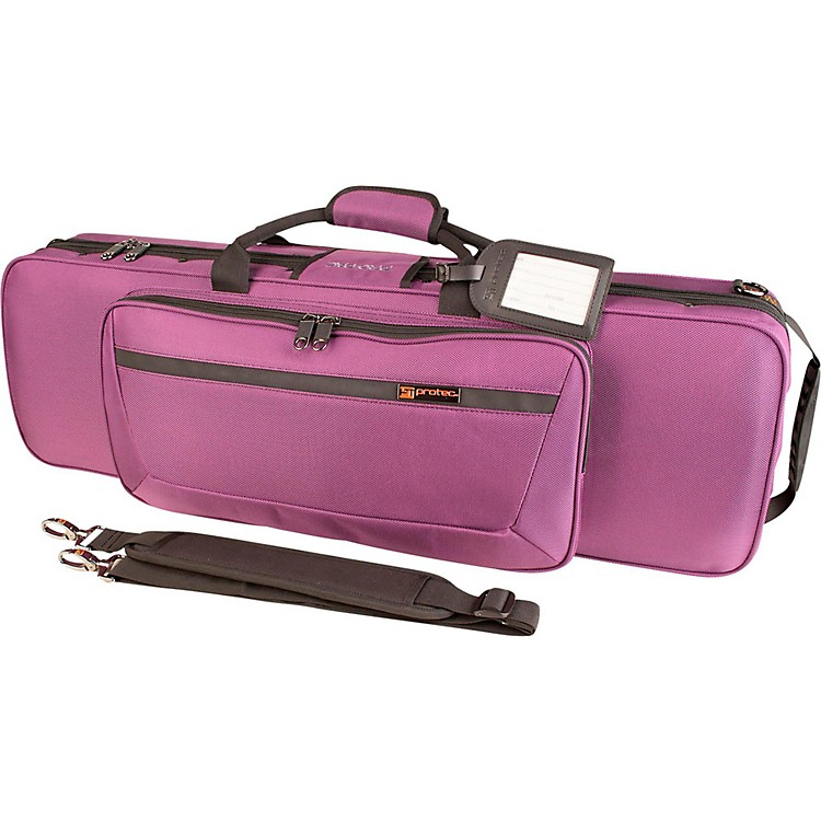 Protec Travel Light Violin Pro Pac Case Purple
