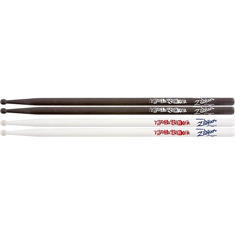 ZildjianTravis Barker 2-Pack - 1-Pair White & 1-Pair Black