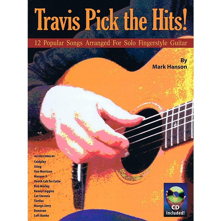 Music Sales Travis Pick The Hits!  (Book/CD)