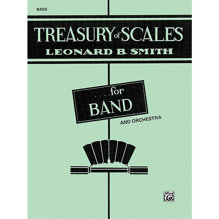 AlfredTreasury of Scales for Band and Orchestra Bass (Tuba)