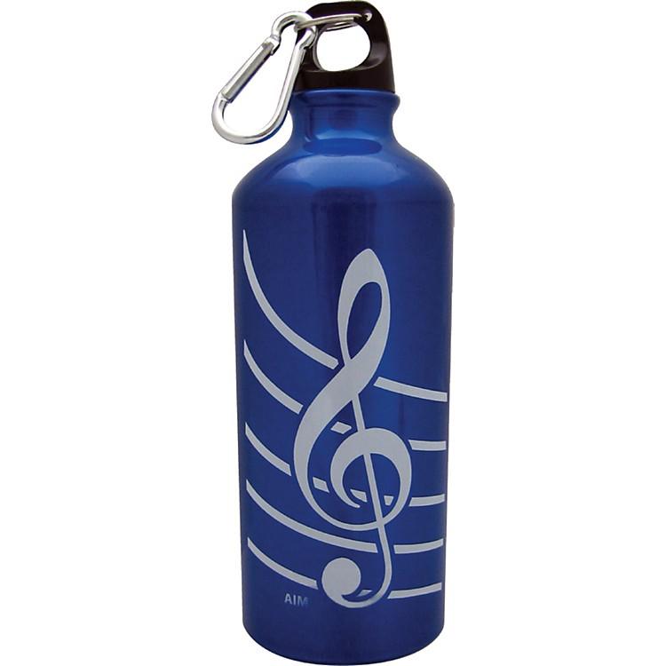 AIMTreble Clef Aluminum Bottle (Blue)
