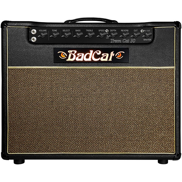 Bad Cat Trem Cat 30W 1x12 Guitar Tube Combo Amp