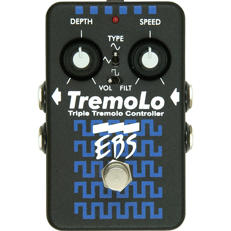 EBSTremoLo Guitar Effects Pedal