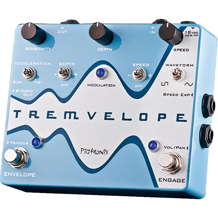 PigtronixTremvelope Tremolo Guitar Effects Pedal