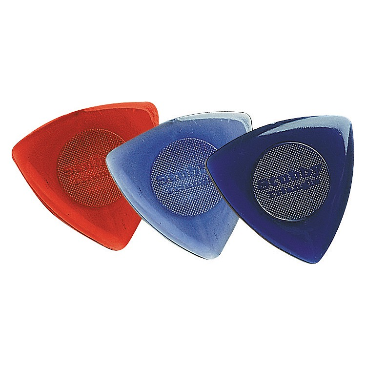 Dunlop Tri Stubby Guitar Picks 6-Pack 1.5 mm