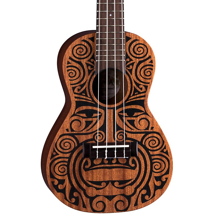 Luna GuitarsTribal Concert UkuleleSatin Natural