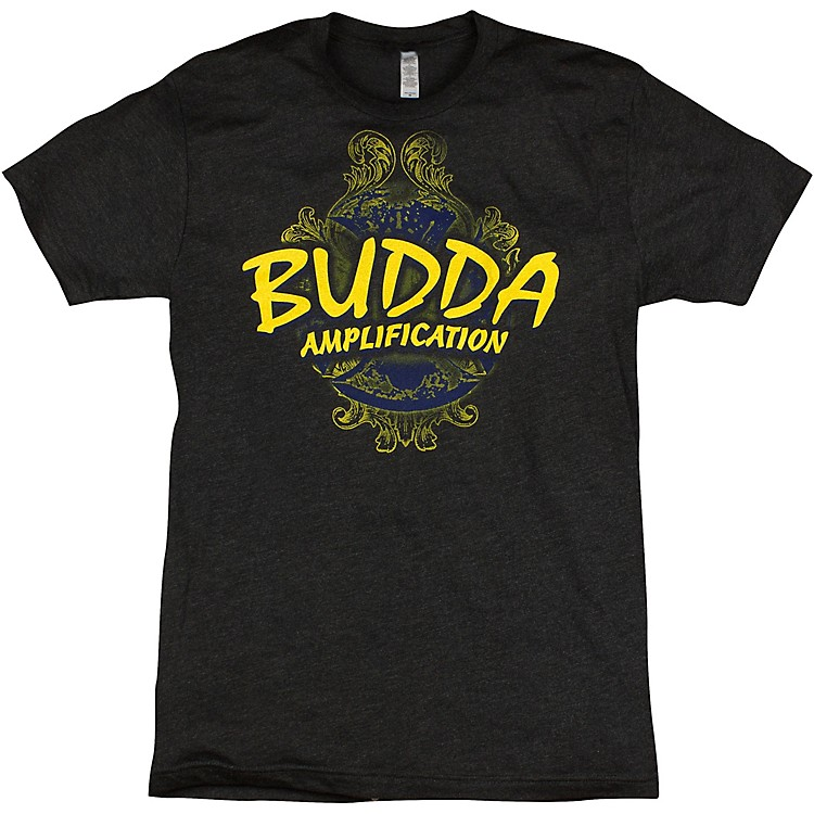 Budda Triblend Graphic T-Shirt Charcoal Small
