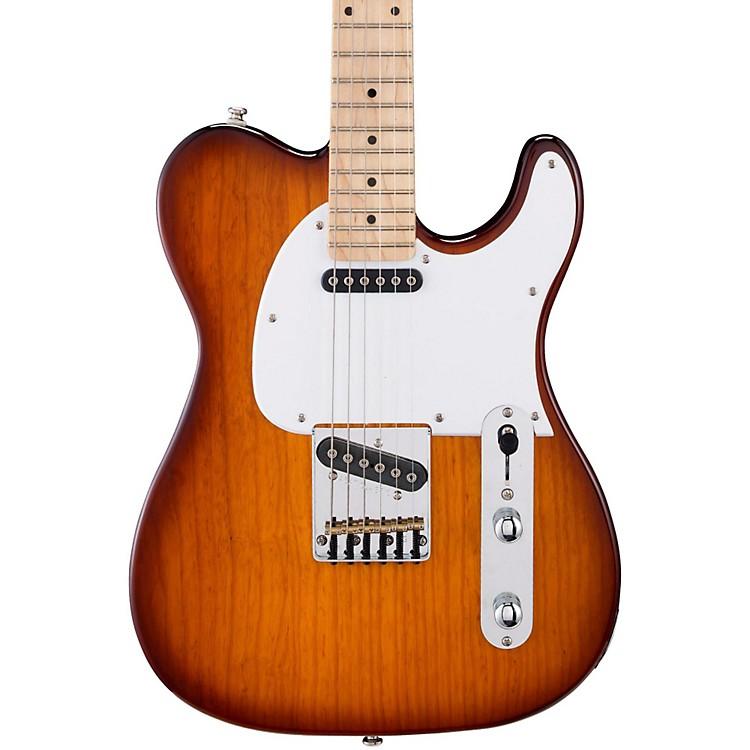 G&LTribute ASAT Classic Electric GuitarTobacco SunburstMaple Fretboard