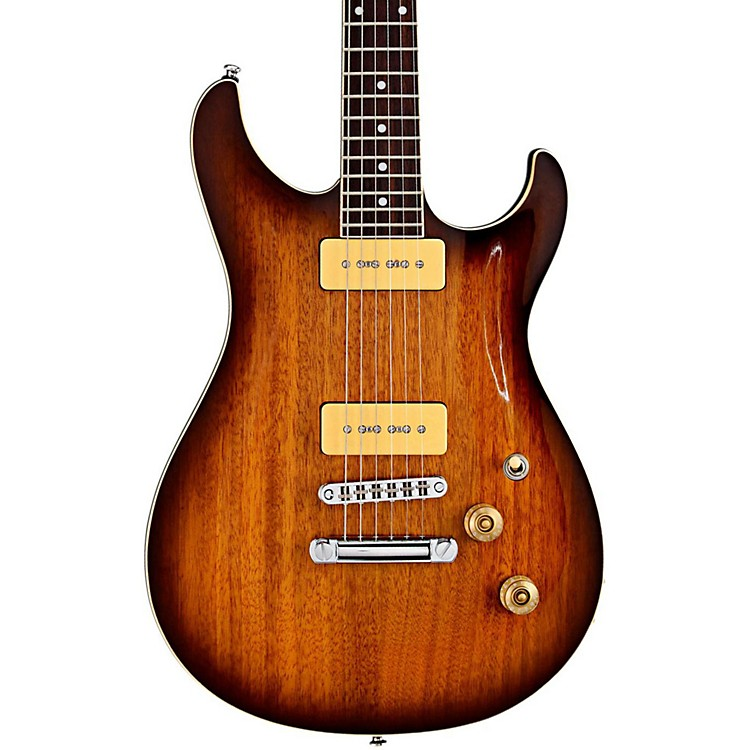 G&L Tribute Acari GT90 Electric Guitar Tobacco Sunburst Rosewood Fretboard