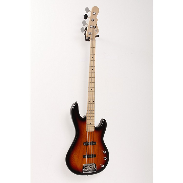 G&L Tribute JB-2 Bass Guitar 3-Tone Sunburst 886830433955