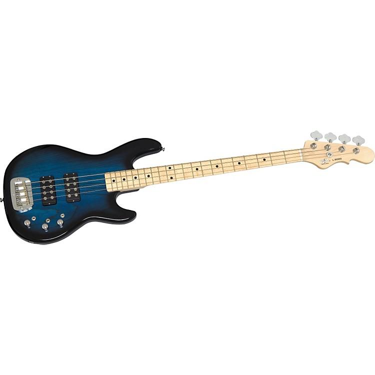 G&LTribute L-2000 4-String BassBlue BurstMaple Fretboard