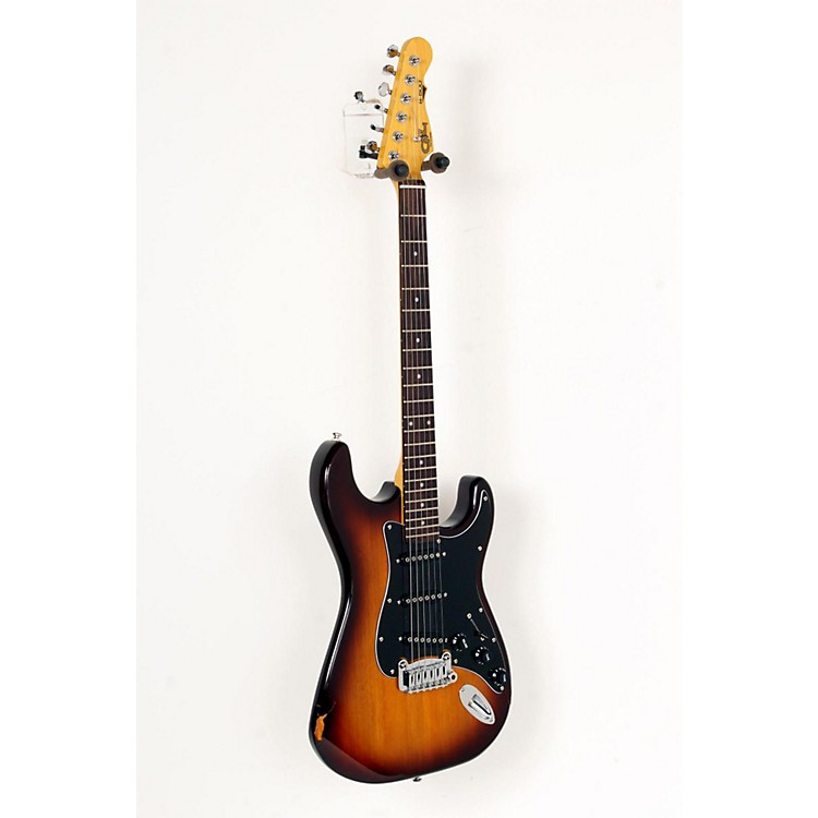G&L Tribute S500 Electric Guitar Tobacco Sunburst, Rosewood Fretboard 888365658957