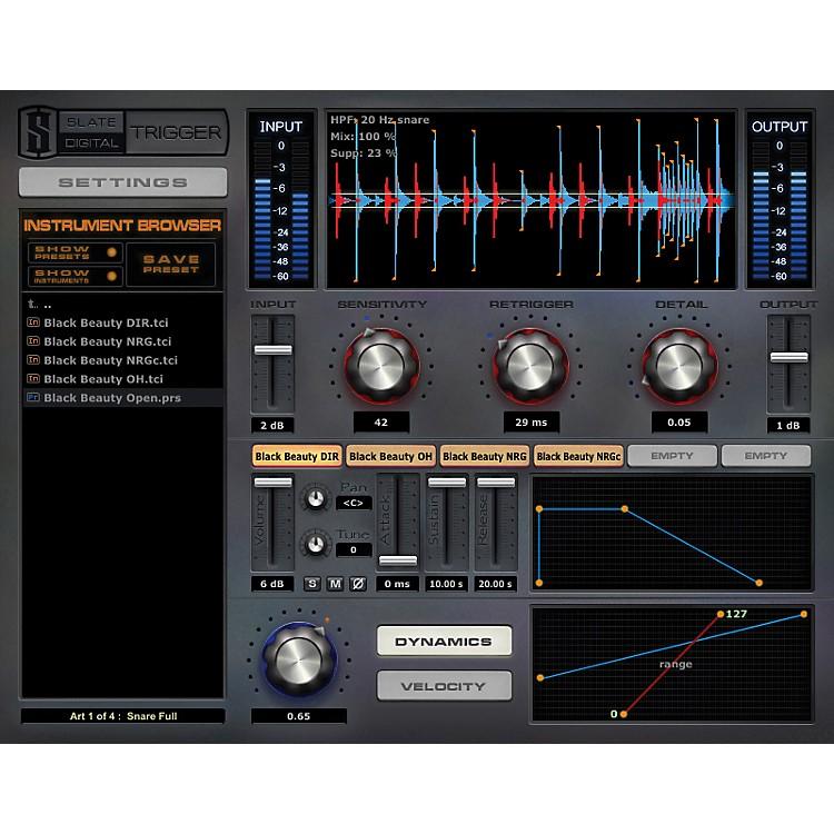 Steven Slate DrumsTrigger Platinum Drum Replacer Plug-In