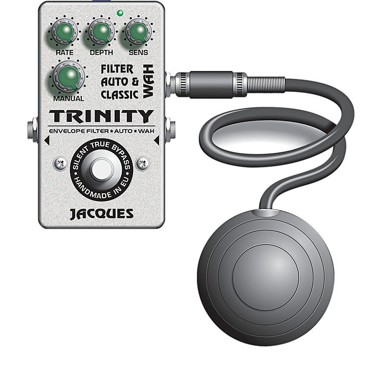 JacquesTrinity Wah Filter Pedal