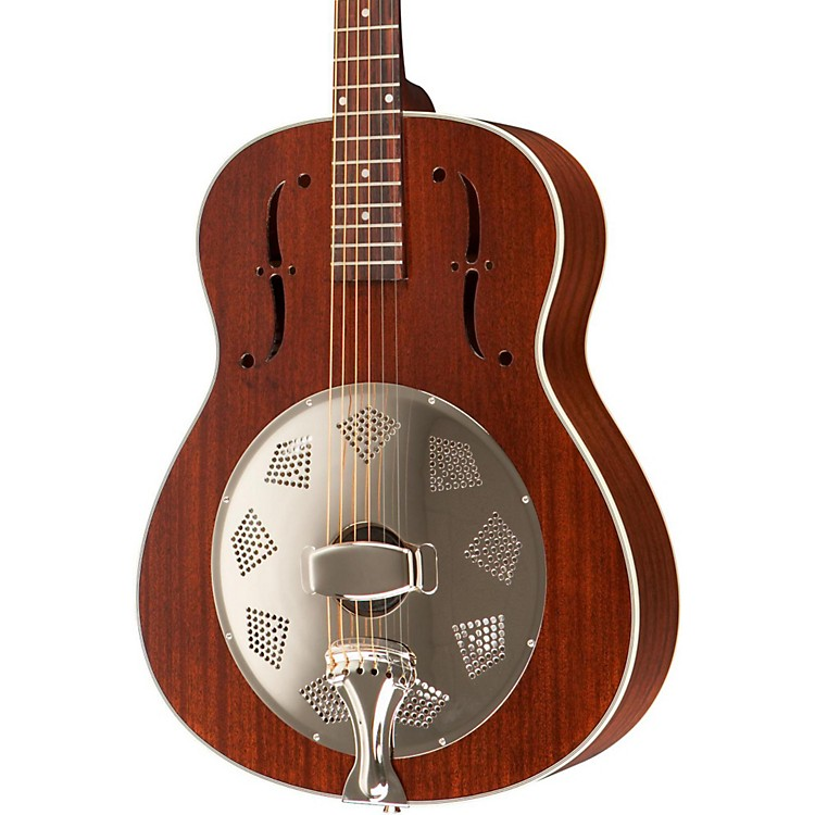 Rogue Triolian Biscuit Cone Resonator Guitar