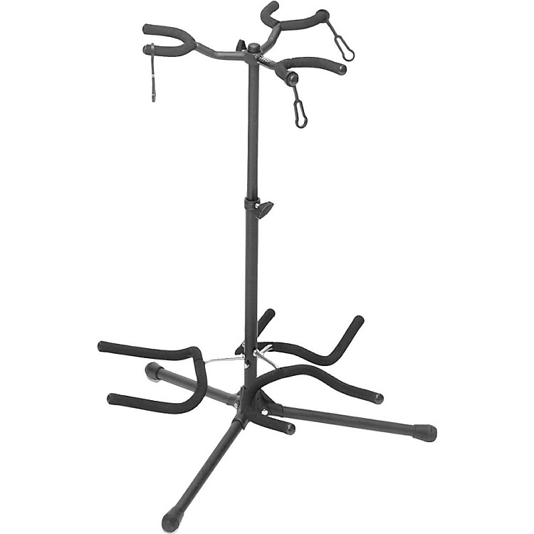On-Stage Stands Triple Guitar Stand Black