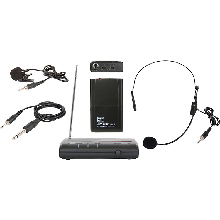 Galaxy Audio Triple Play VHF Wireless Belt Pack System