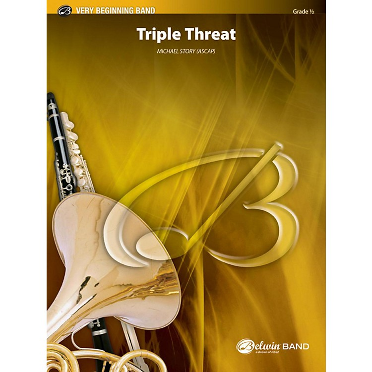 AlfredTriple Threat Concert Band Grade 0.5