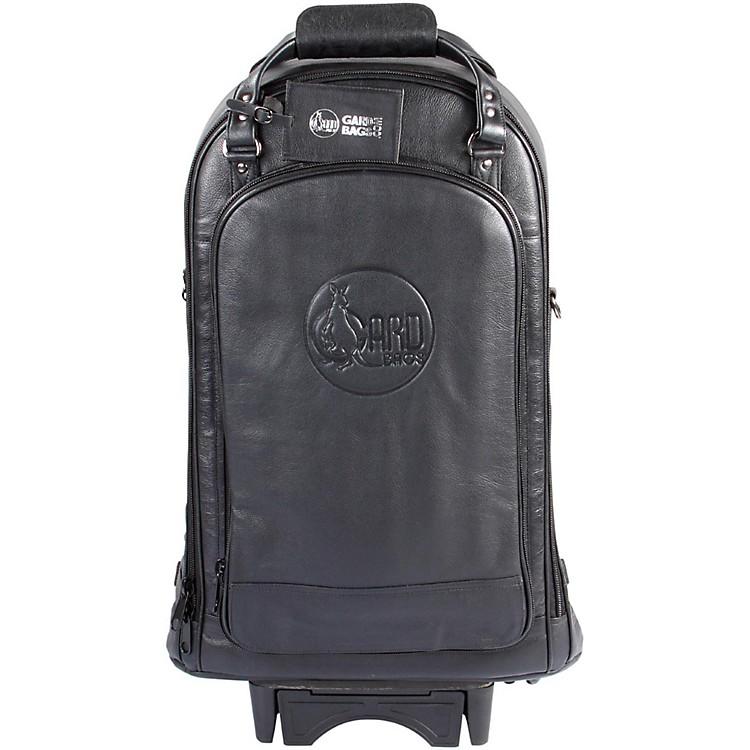 GardTriple Trumpet Wheelie Bag11-WBFLK BlackUltra Leather