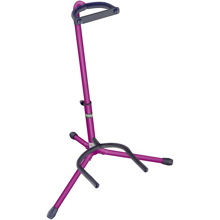 Stagg Tripod Guitar Stand Lilac
