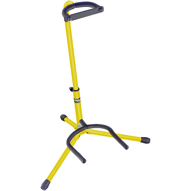 Stagg Tripod Guitar Stand Yellow