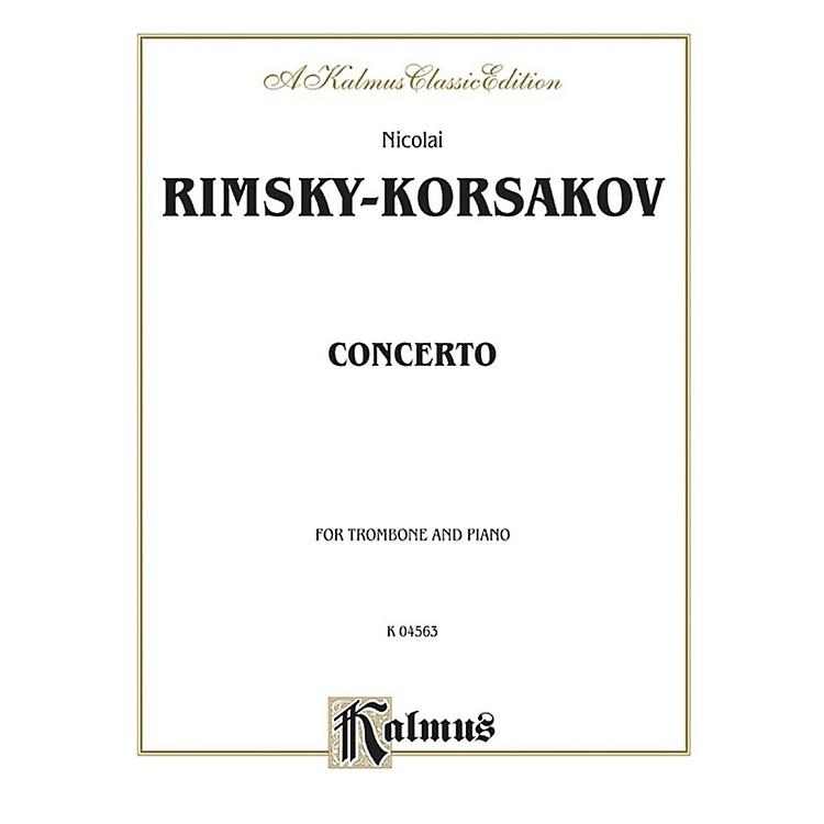 AlfredTrombone Concerto for Trombone By Nicolai Rimsky-Korsakov Book