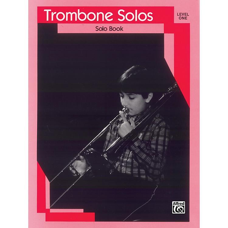 AlfredTrombone Solos Level I Solo Book