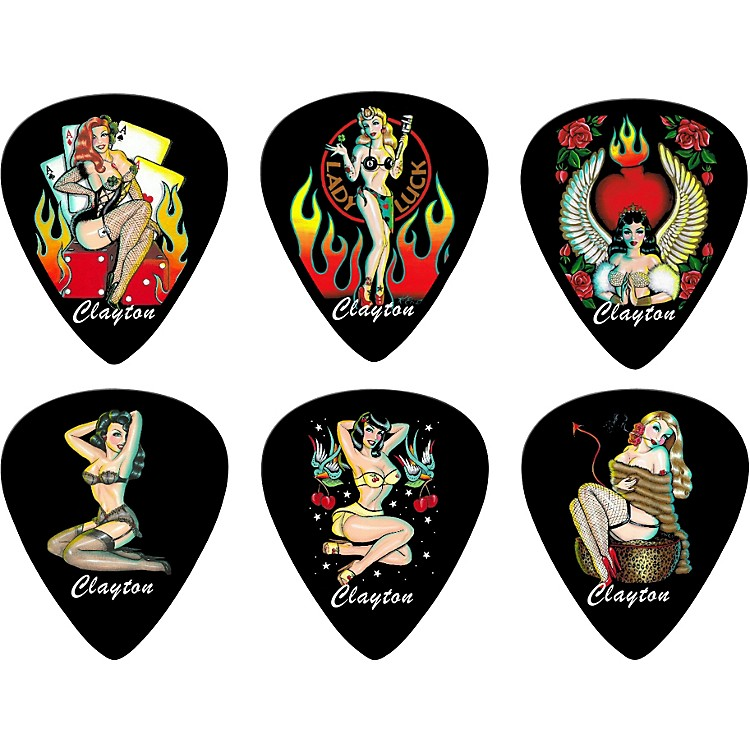 Clayton Trouble Dollz Standard Picks - 1 Dozen Medium
